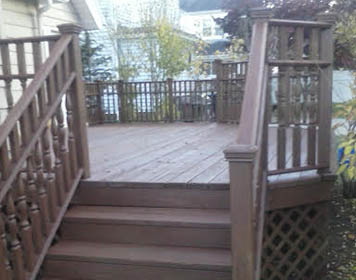 Deck Painting Photo